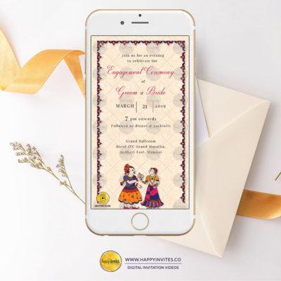 Engagement Invitation Ecard