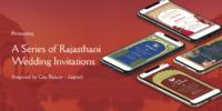 Rajasthani Wedding Invitation Banner