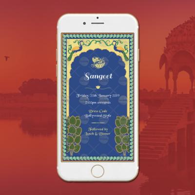 Rajasthani Wedding Ecard Design
