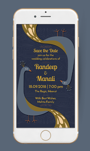 We08 Pea Save The Date Ecard Invitation Video Animated E Card Online Maker Templates Hy Invites