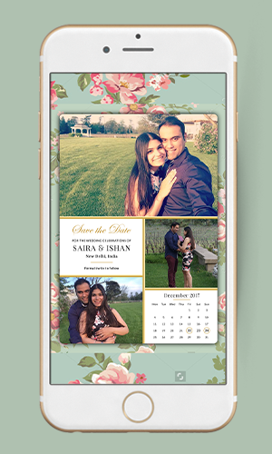 Save the Date Invitations with Photo
