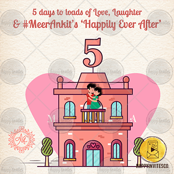 5 Day to Go Reminder Countdown E-card