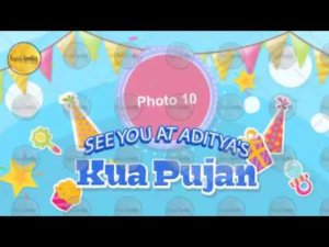 Kua Pujan Invitation Video Ecard Invitation Video
