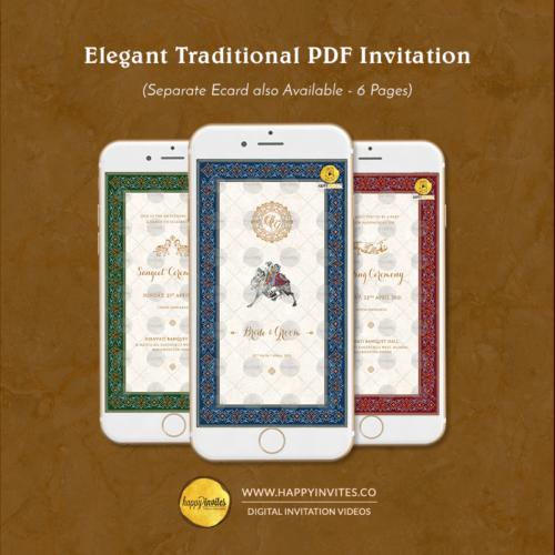 Indian Wedding Invitation PDF
